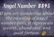 8895 angel number