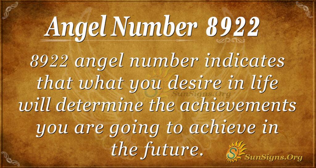 8922 angel number