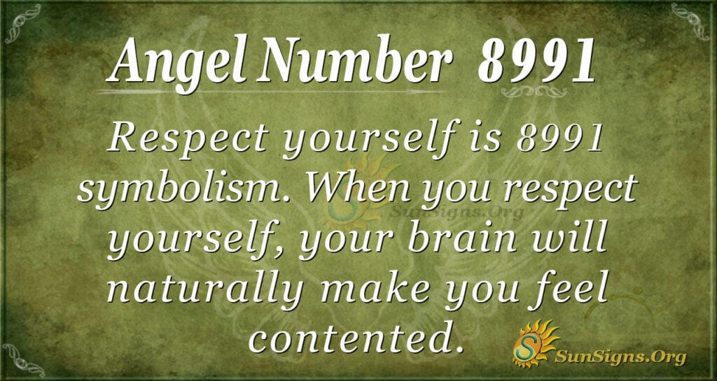 8991 angel number
