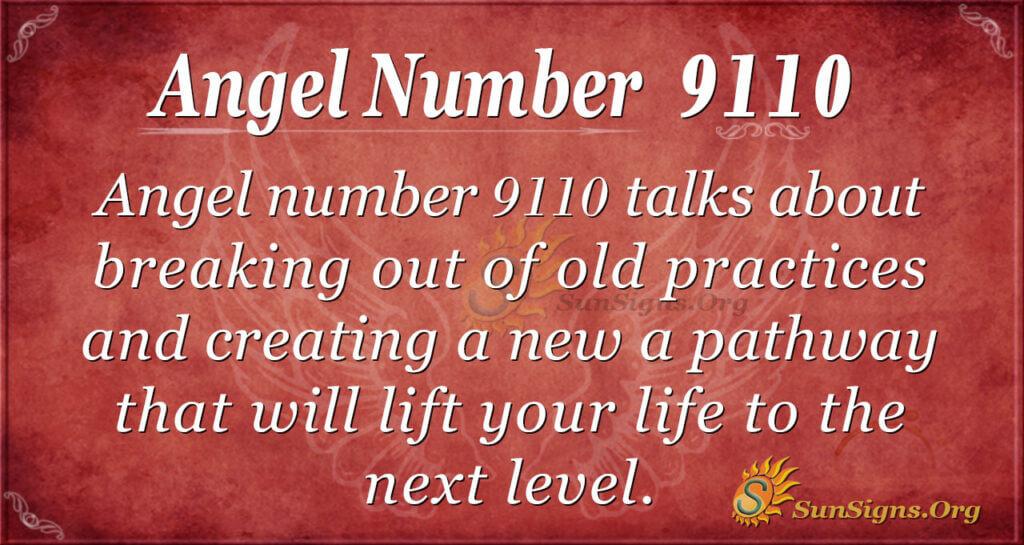 9110 angel number