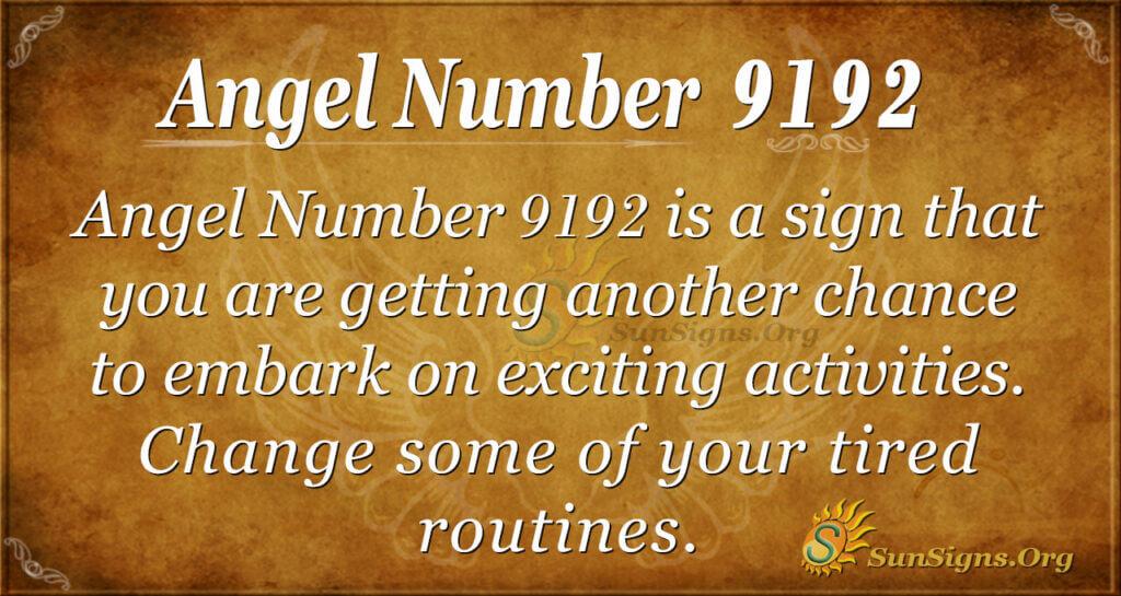 9192 angel number