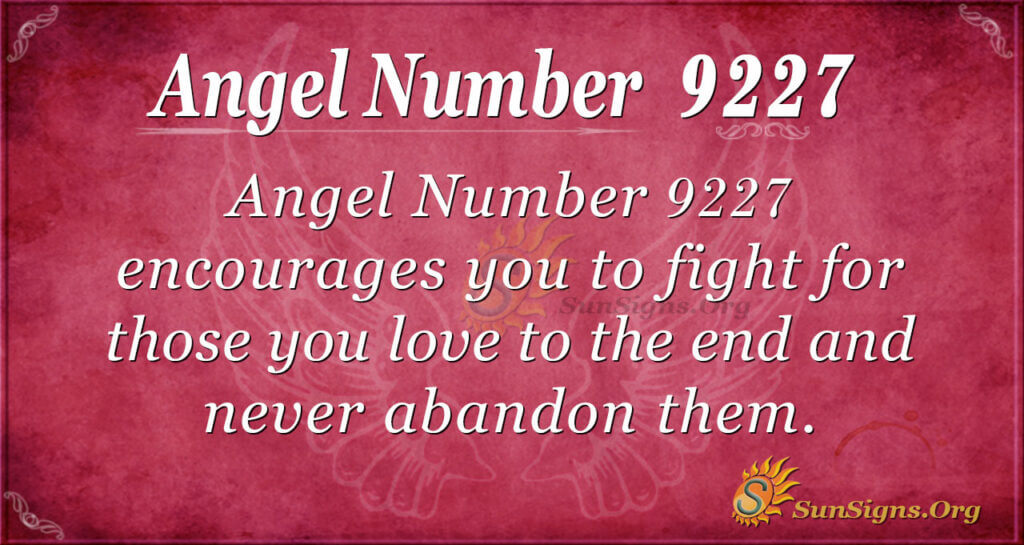 9227 angel number
