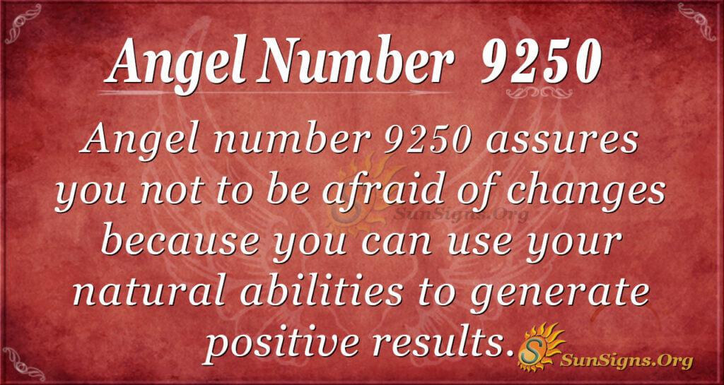9250 angel number