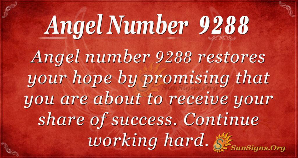 9288 angel number