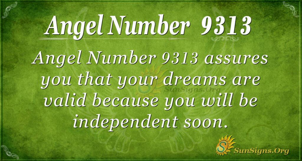 9313 angel number