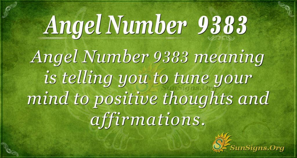 9383 angel number