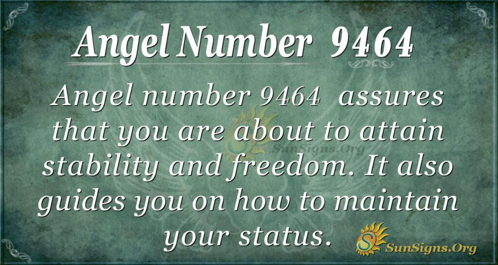 9464 angel number