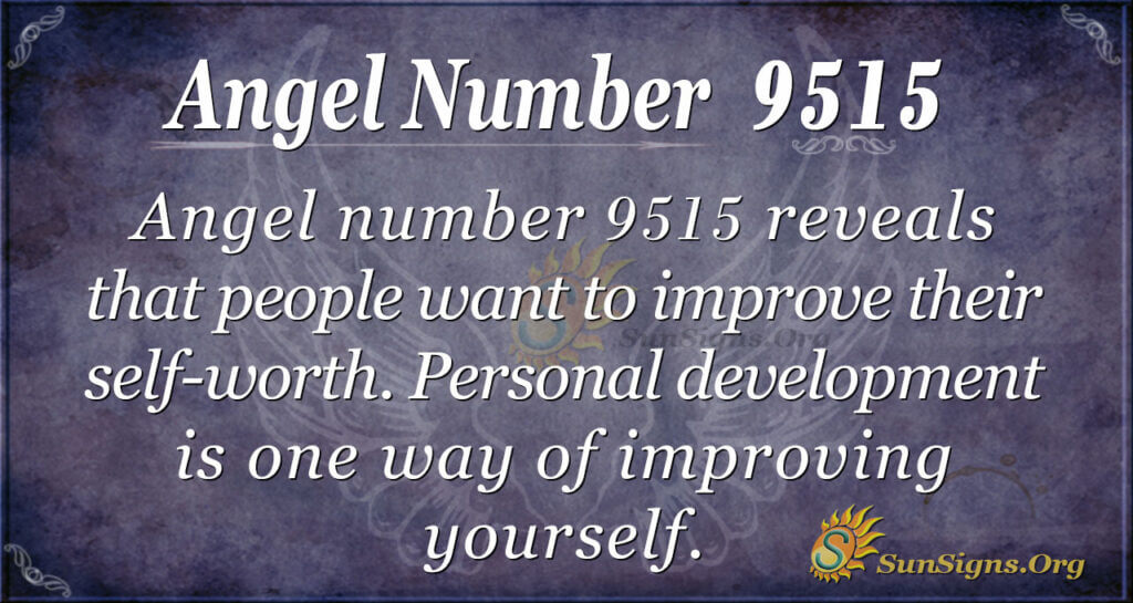 Angel number 9515