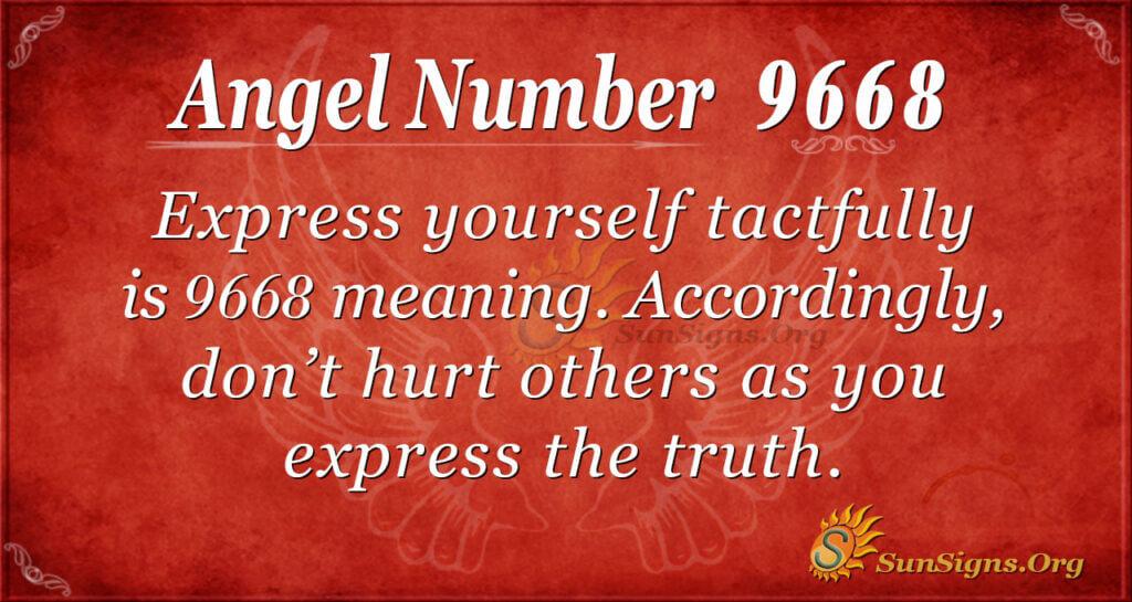 9668 angel number