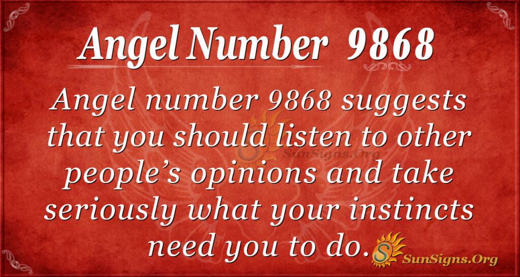 9868 angel number