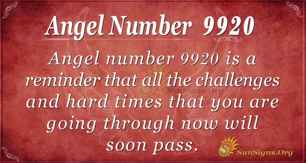 9920 angel number