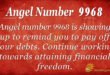 Angel number 9968