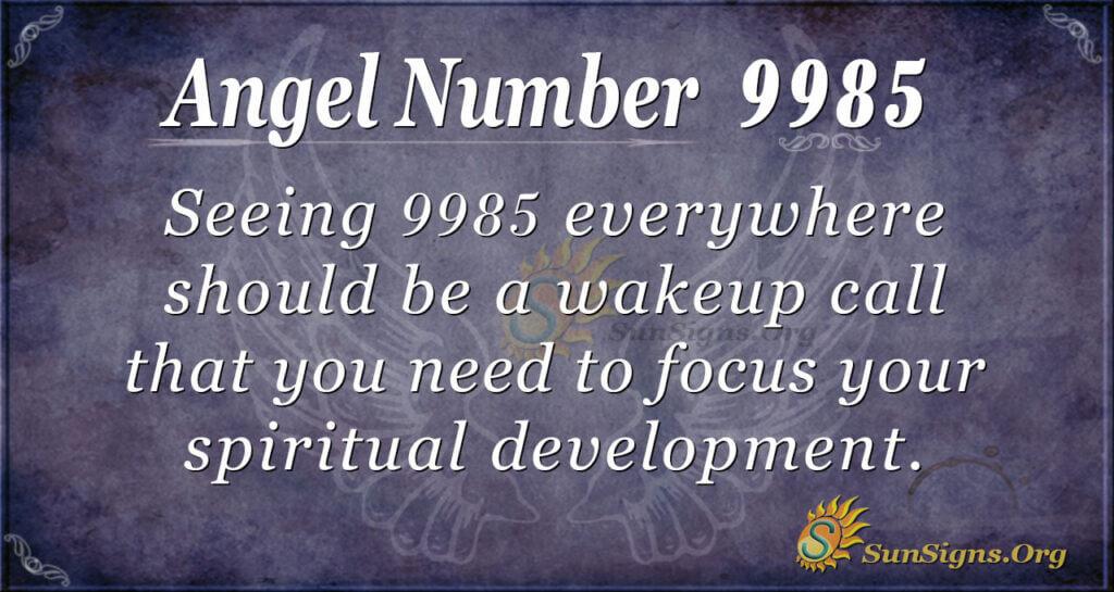 9985 angel number