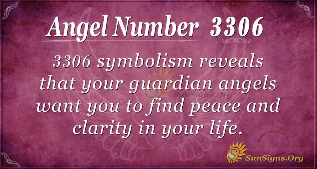 Angel Number 3306