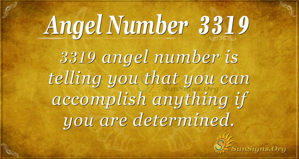3319 angel number