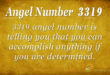 3319 angel number