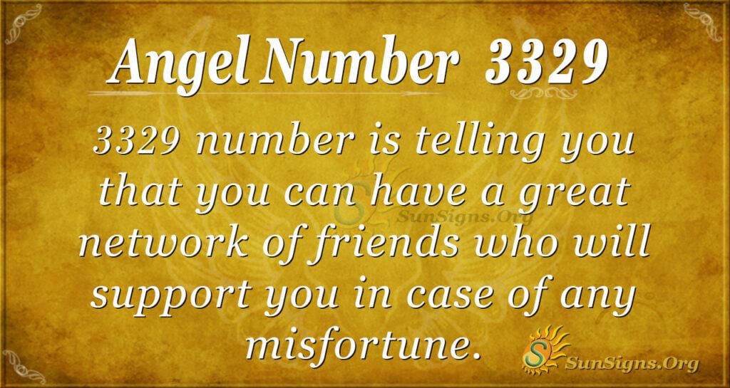3329 angel number