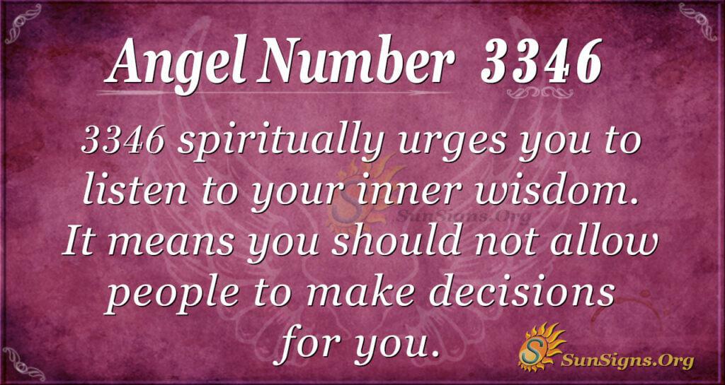 3346 angel number