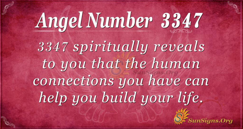 3347 angel number