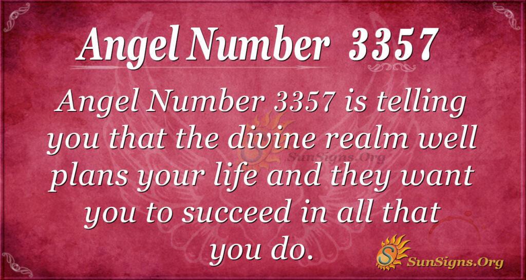 3357 angel number