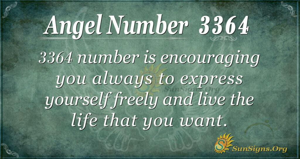 Angel Number 3364