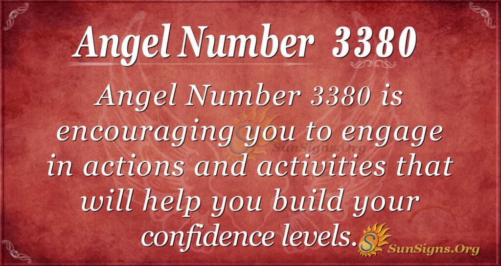 Angel Number 3380