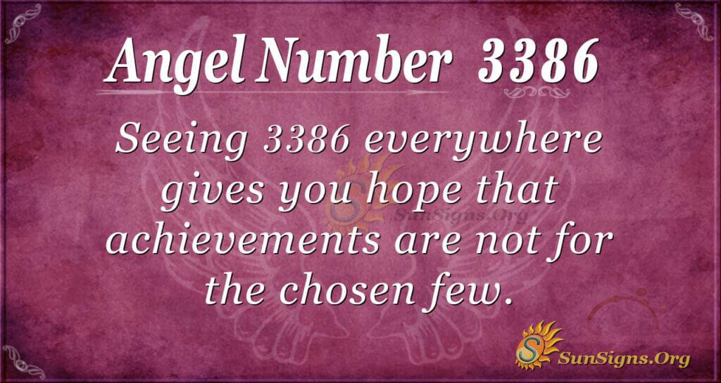 3386 angel number
