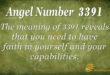 3391 angel number