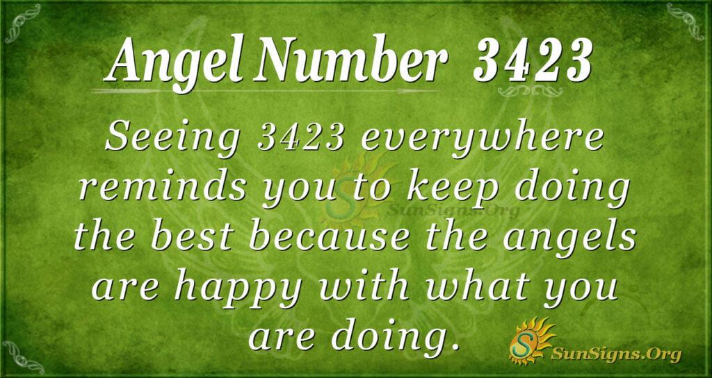 3423 angel number
