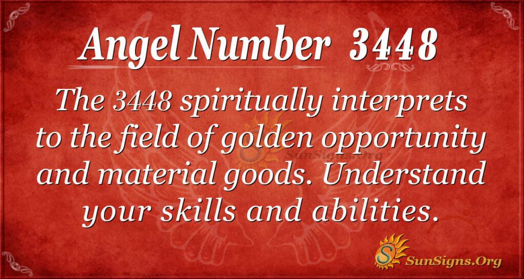 3448 angel number