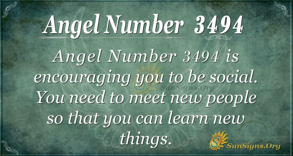 3494 angel number