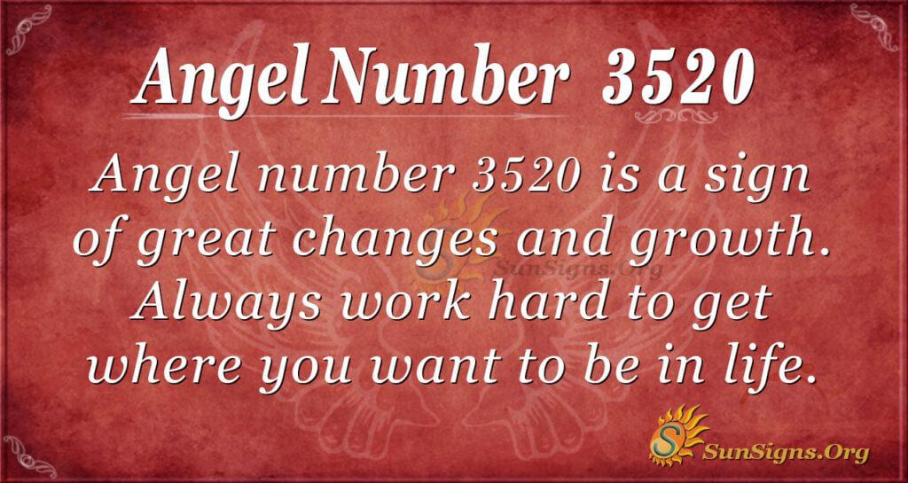 3520 angel number