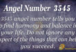 3545 angel number
