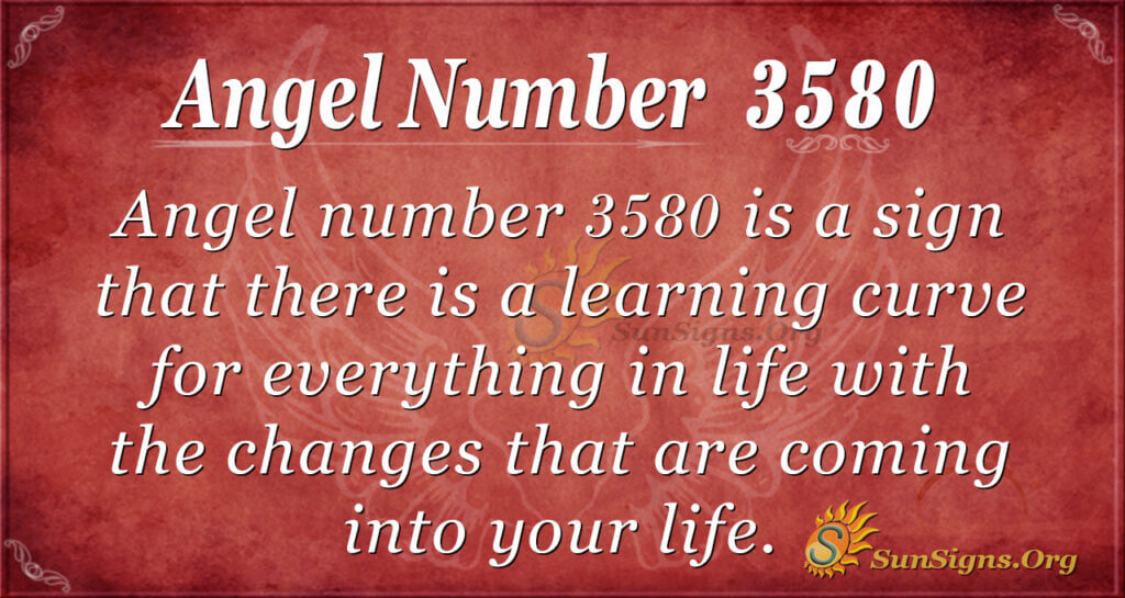 3580 angel number