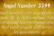 3599 angel number