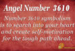 3610 angel number