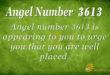3613 angel number