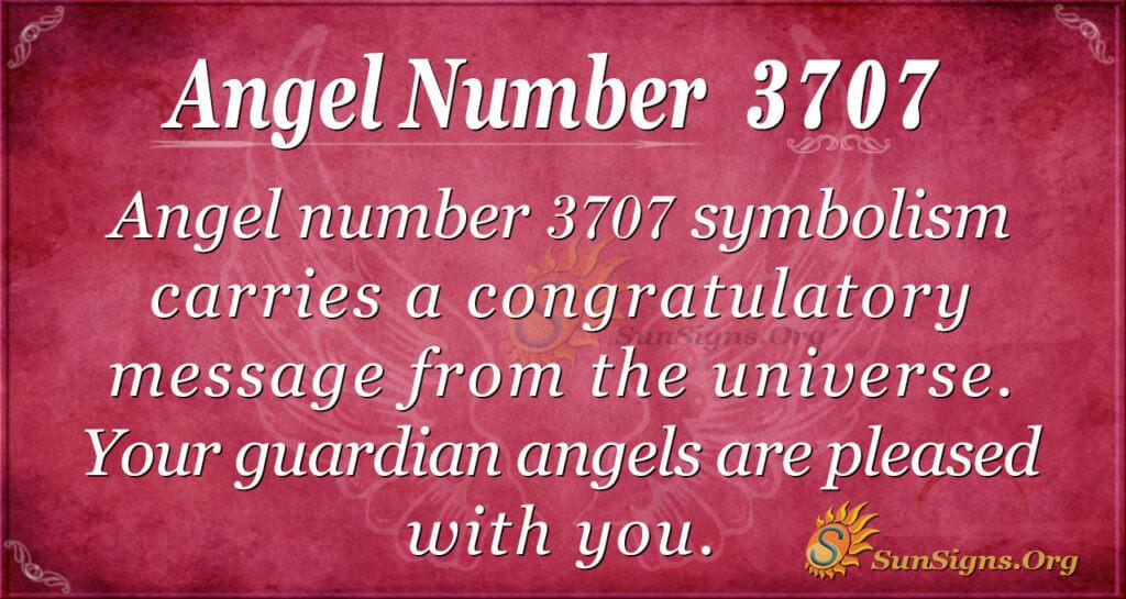 3707 angel number