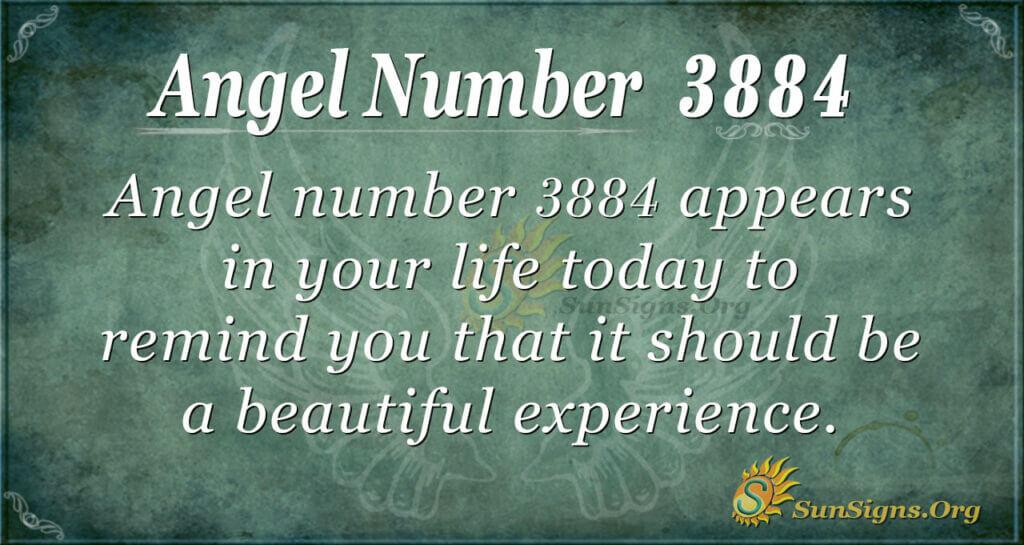 3884 angel number