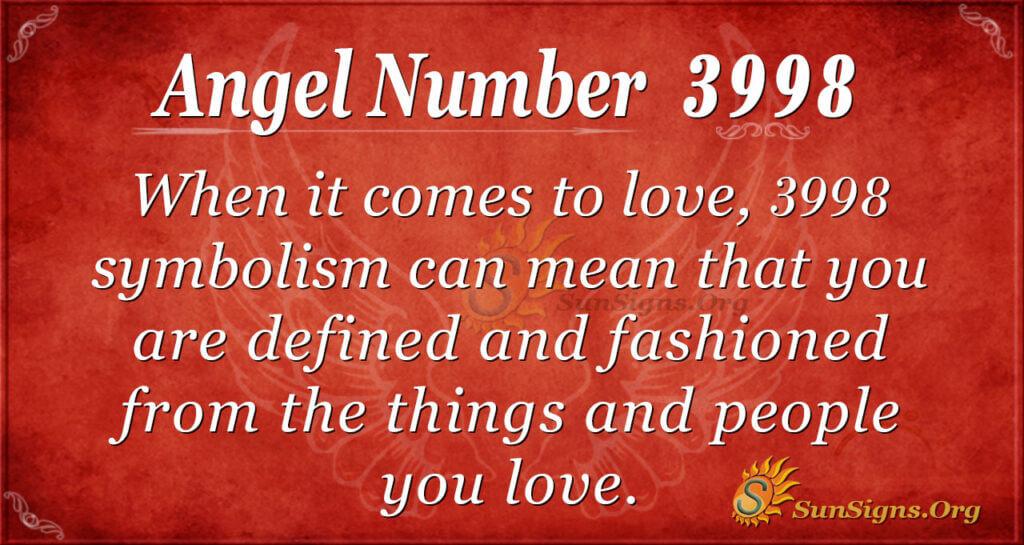 3998 angel number