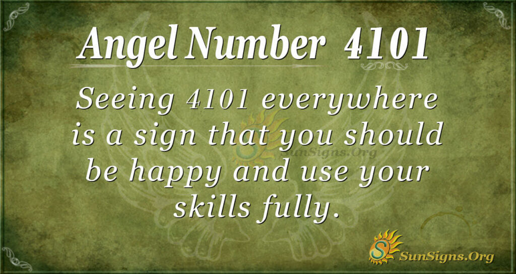 4101 angel number