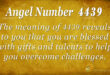 4439 angel number