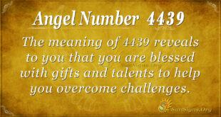4439 angel number