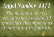 4471 angel number