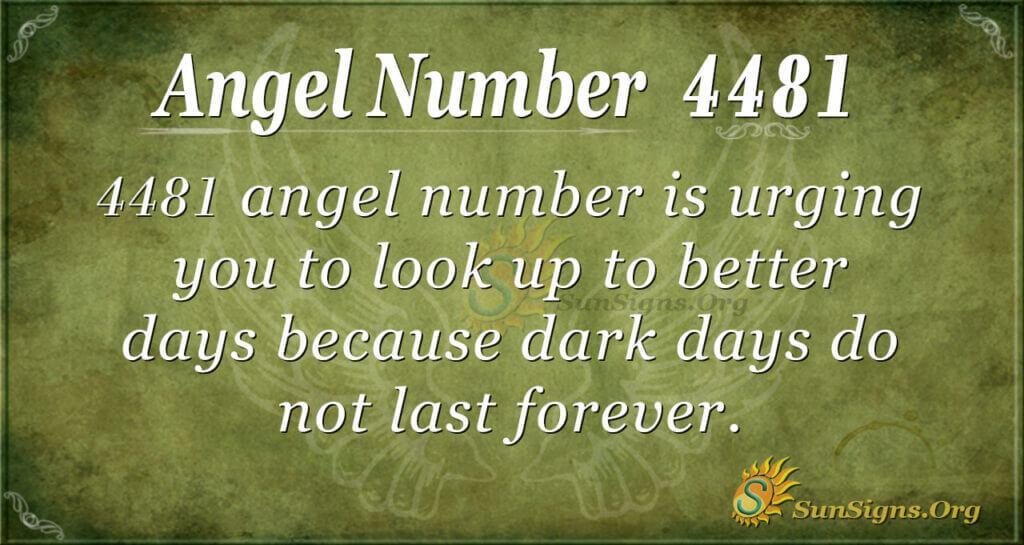 4481 angel number