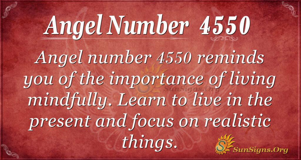 4550 angel number