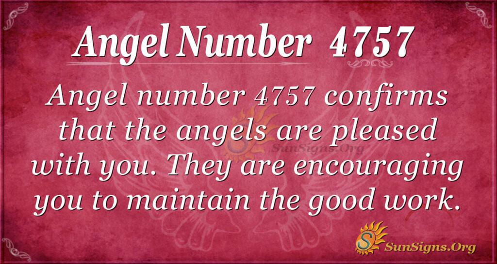 4757 angel number