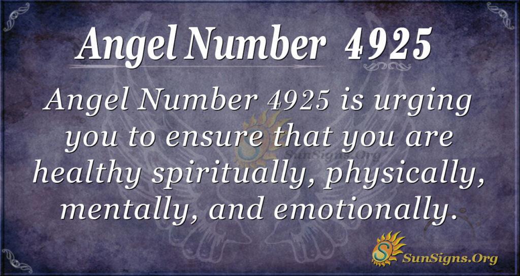 4925 angel number