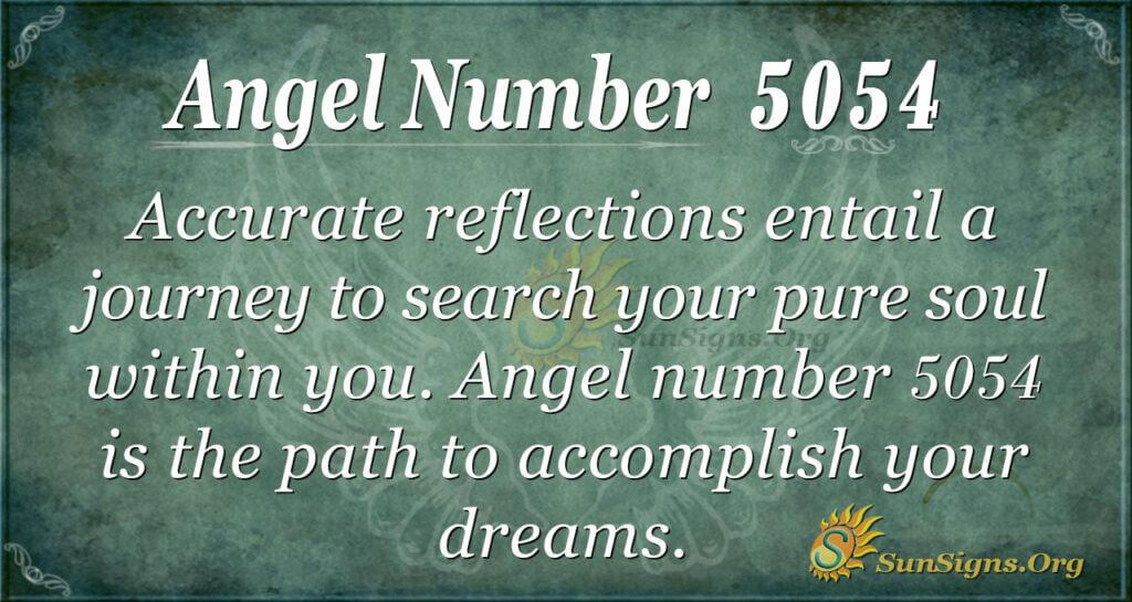 5054 angel number