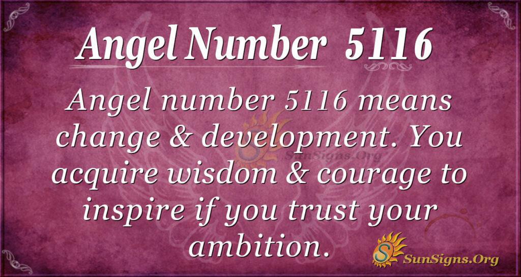 5116 angel number